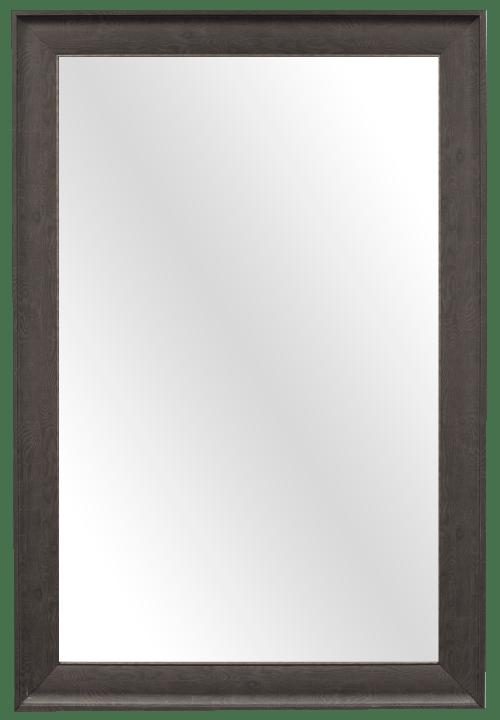 espresso wood mirror frame