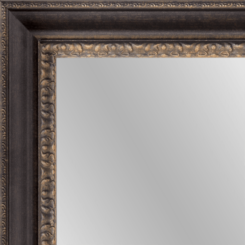 1600 Bronzed Framed Mirror