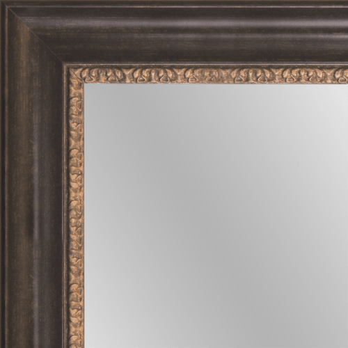 1661 Bronzer Framed Mirror