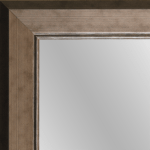 1673 Electron Framed Mirror