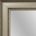 1707 Modern Silver Mirror Frame