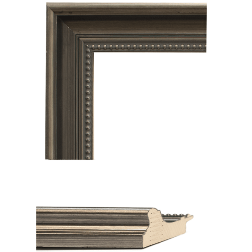 2446 Dark Pewter Mirror Frame Sample