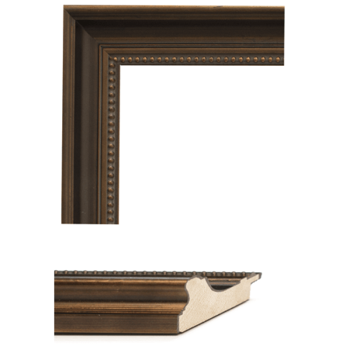 2447 Dark Bronze Mirror Frame Sample