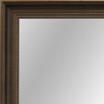 2447 Dark Bronze Framed Mirror