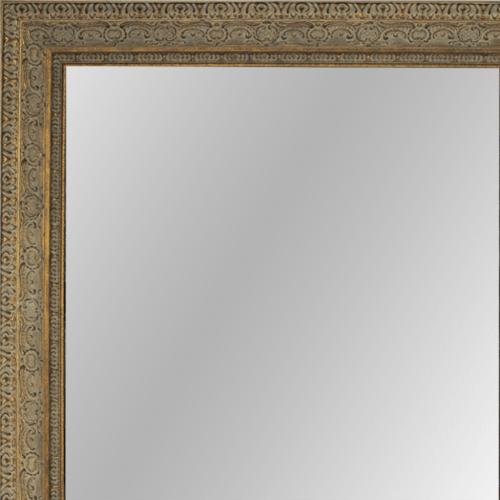 4019 Aged Dark Gold Framed Mirror