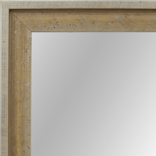 4021 Flat Champagne Framed Mirror