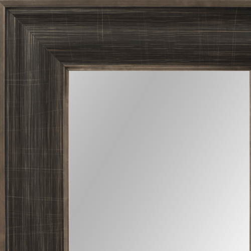 4028 Pewter Framed Mirror