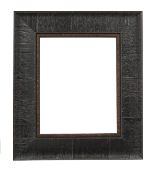 Dark Brown Burl Mirror Frame