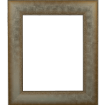 4035 Silver Embossed Mirror Frame
