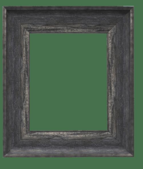 burnt mirror frame