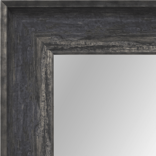 4044 Burnt Framed Mirror
