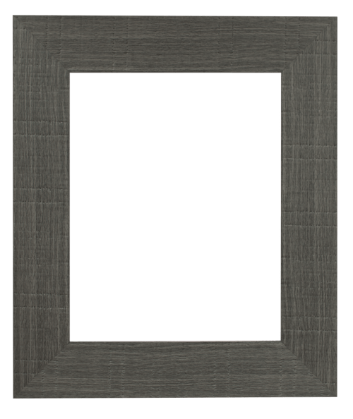 Grey Oakwood Mirror Frame