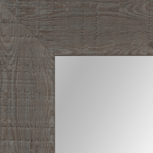 4065 Light Grey Oakwood Framed Mirror