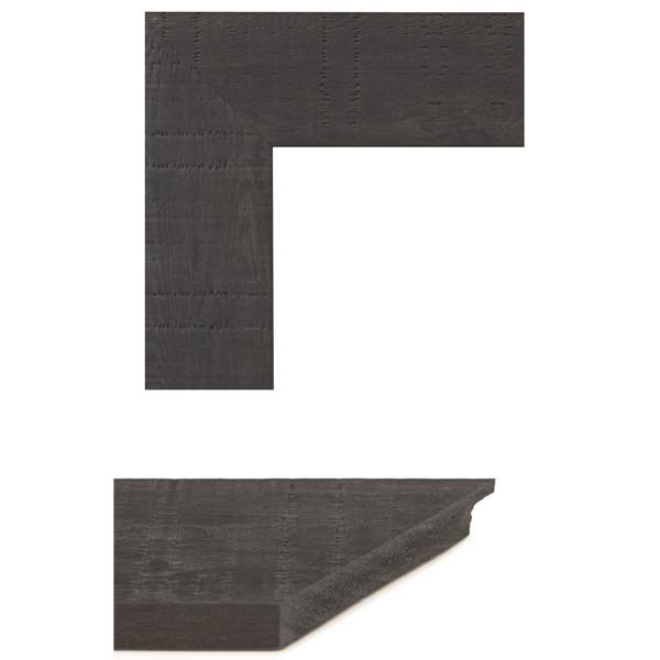 dark walnut oakwood mirror frame samples