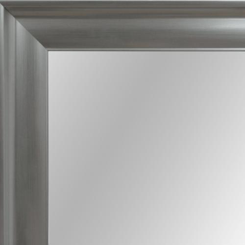 4079 silver framed mirror