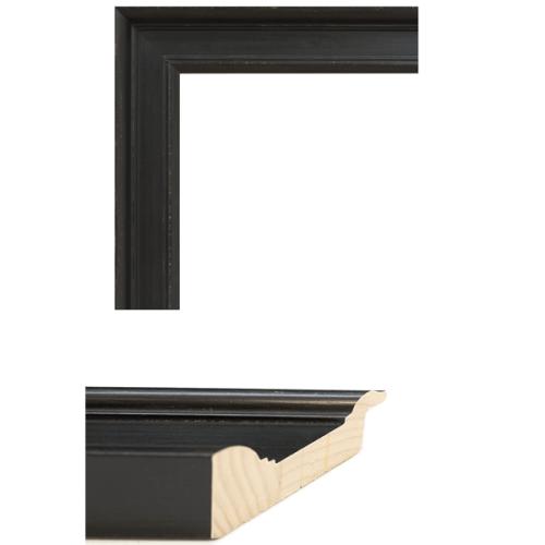 4080 Black Mirror Frame Sample