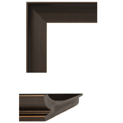 4082 Bronze Mirror Frame Sample