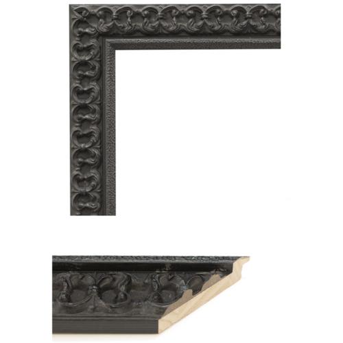 4102 Black Mirror Frame Sample