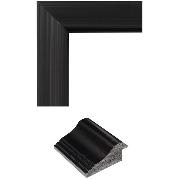 black satin mirror frame samples