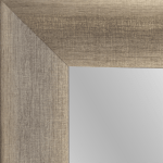 4139 Grey Silver Framed Mirror