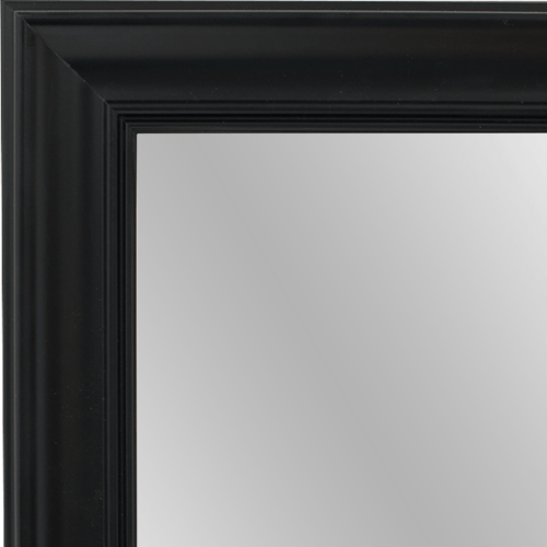 4030 Black Framed Mirror