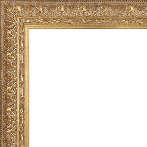 1408 Gold Mirror Frame