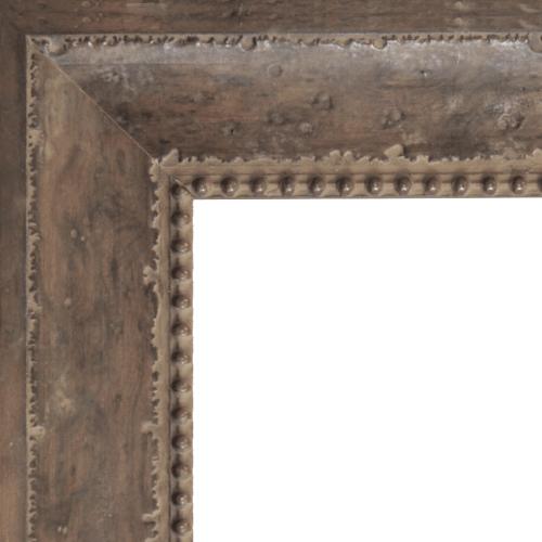 1645 Buckskin Mirror Frame