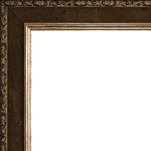 2429 Pumpernickel Mirror Frame