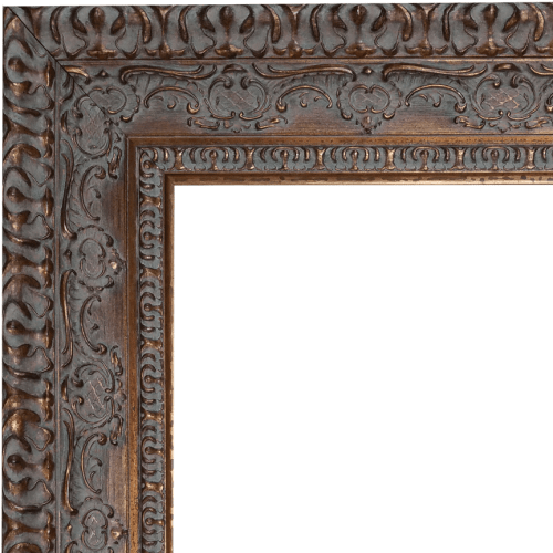 2439 Dark Gold Mirror Frame