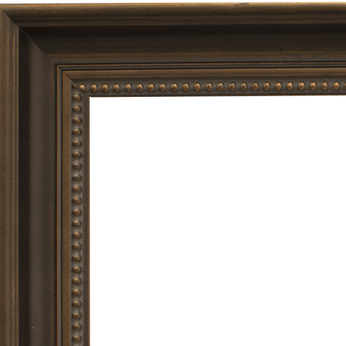 2447 Dark Bronze Mirror Frame