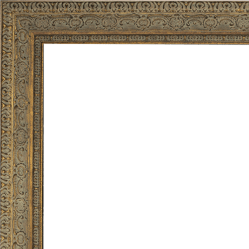 4019 Aged Dark Gold Mirror Frame