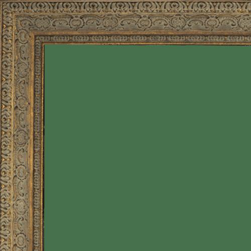 4019 Aged Dark Gold Mirror Frame