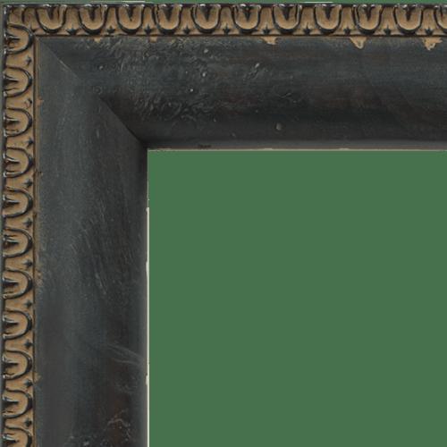 4025 Reverse Black Mirror Frame