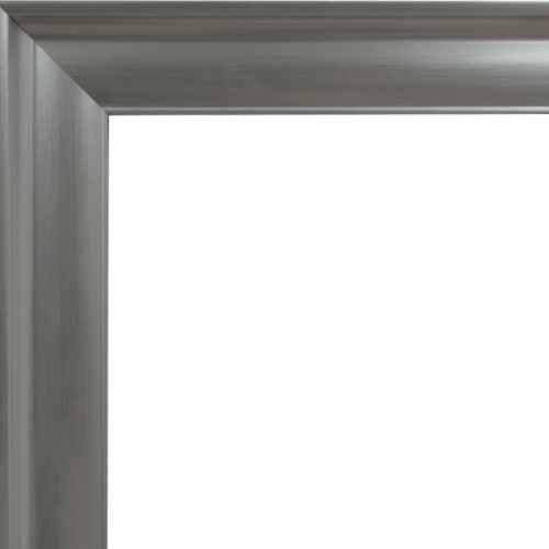 4079 Modern Silver Mirror Frame