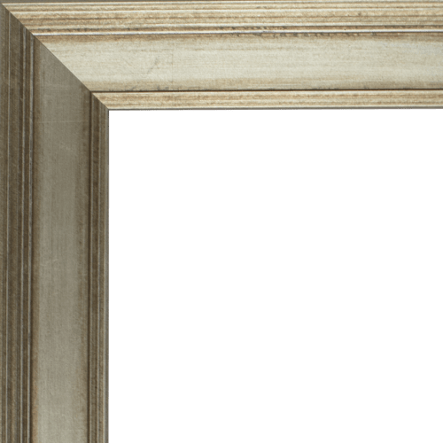 4107 Antique Silver Mirror Frame