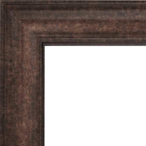 4130 Burnished Gold Mirror Frame