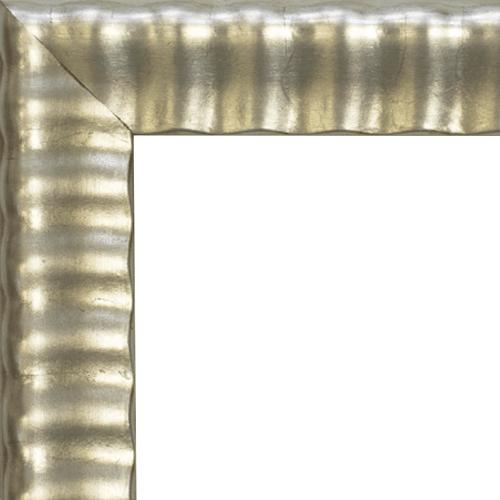 4142 Silver Leaf Mirror Frame