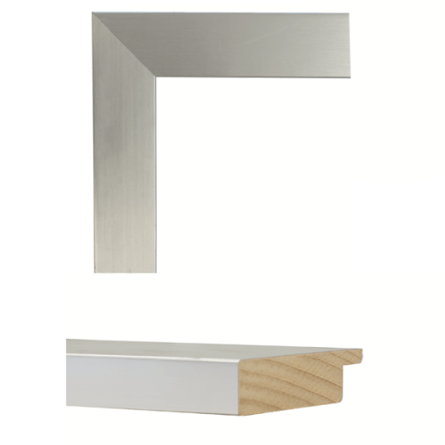 4143  Stainless Steel Mirror Frame Sample