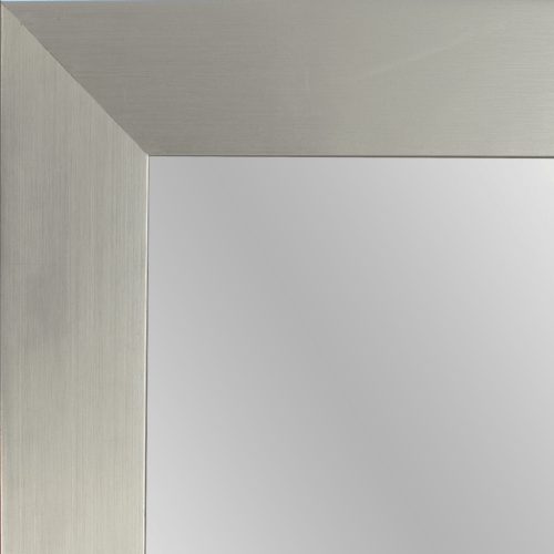 4143 Stainless Steel Framed Mirror