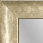 4146 Antique Silver Framed Mirror