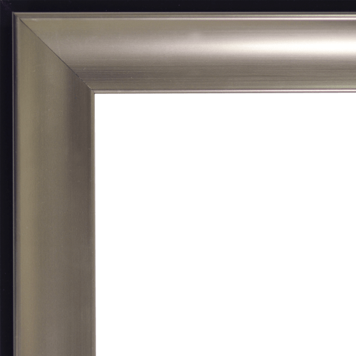 tempo pewter mirror frame