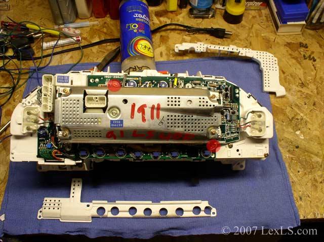 lexus ls400 instrument cluster wiring wiring diagram