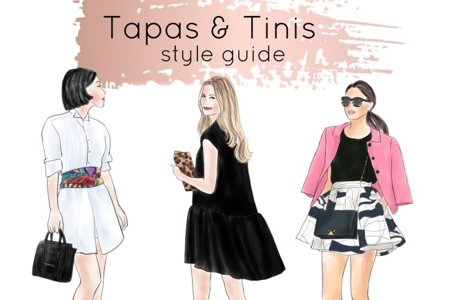 Euphoria Greenville, Tapas & Tinis style guide.