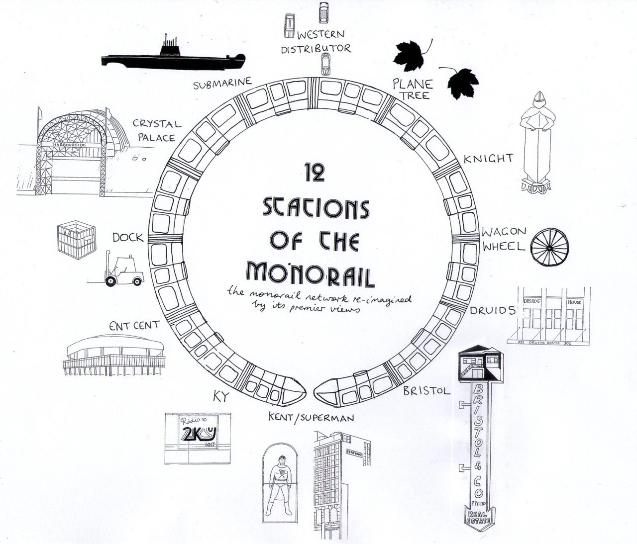The Monorail Map