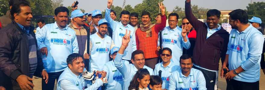 उत्तराखंड XI ने दिल्ली XI को क्रिकेट में हराया, मंत्री प्रकाश पंत थे उत्तराखंड के कप्तान