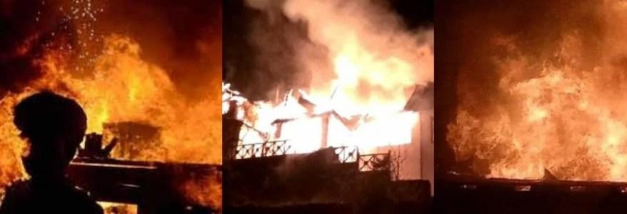 उत्तराखंड : 24 घंटे में तीन जगह भीषण आग, एक बच्ची की मौत और एक महिला झुलसी