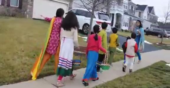 देखिये ' फूल देई ' का त्योहार अमेरिका में, परंपरा को यहां भी जीवित रखा है प्रवासी उत्तराखंडियों ने
