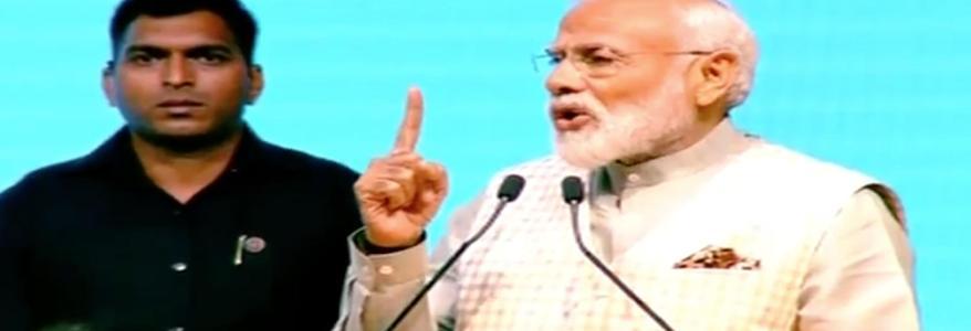 दिल्ली के तालकटोरा स्टेडियम में बोले PM, 5 साल में हमारी सरकार ने खत्म किए 1500 कानून