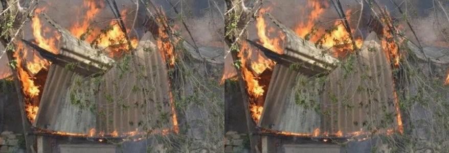उत्तराखंड : चुनाव कंट्रोल रूम में आग लगने से मची अफरा-तफरी, आग का कारण शॉर्ट सर्किट