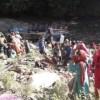 यहां खाई में गिरी यात्रियों से भरी बस, 32 से ज्यादा लोगों की मौत, इलाके में मातम